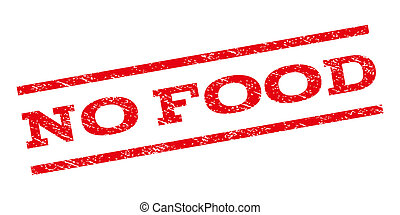 No Food Watermark Stamp - No Food watermark stamp. Text...