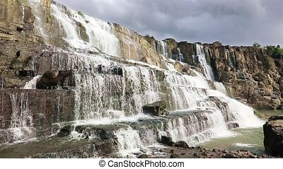 Pongour waterfall Pongour - Beautiful waterfall Pongour near...