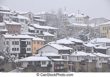 Residential Area in the Winter
