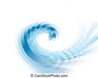 vector vortex effect - vector composition with grid, tiles,...