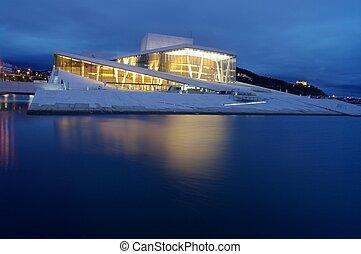 Oslo Opera House (Operahuset). Oslo, Norway