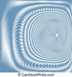 abstract vortex, vector opt art, gradient effect