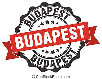 Budapest round ribbon seal