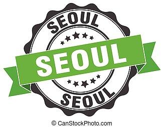 Seoul round ribbon seal