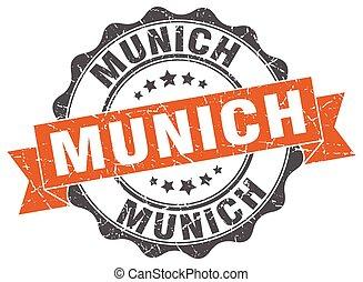 Munich round ribbon seal