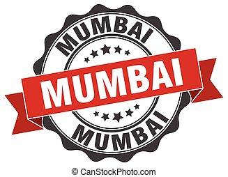 Mumbai round ribbon seal