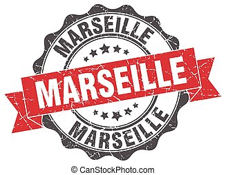 Marseille round ribbon seal