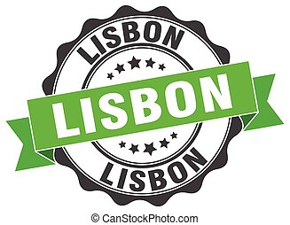 Lisbon round ribbon seal