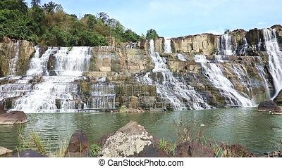 Famous Pongour Waterfall - Pongour Waterfall, one of the...