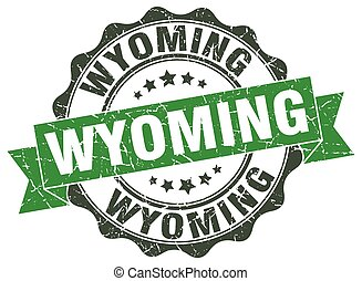 Wyoming round ribbon seal