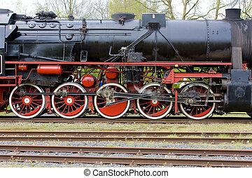 steam locomotive, Veendam - Stadskanaal, Netherlands