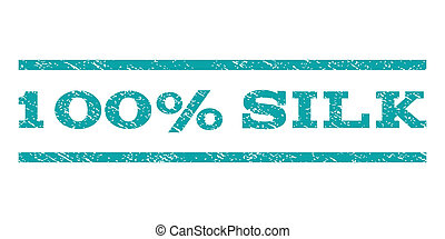 100 Percent Silk Watermark Stamp - 100 Percent Silk...