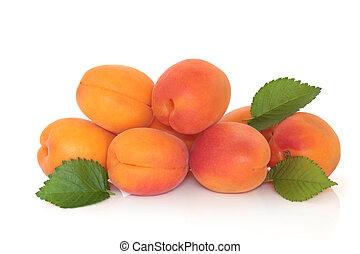 albaricoque, fruta