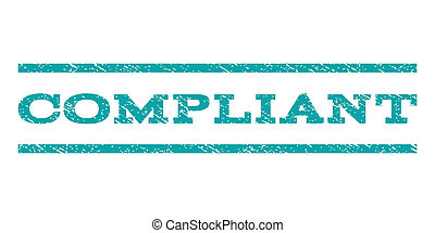 Compliant Watermark Stamp - Compliant watermark stamp. Text...
