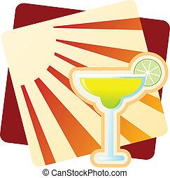 Margarita - Illustration of a Margarita.