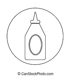 bottle ketchup icon
