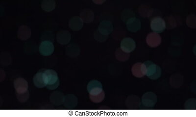 Abstract colorful blurred background with lines and dots