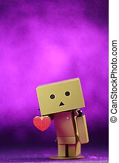Danbo is a cute toy