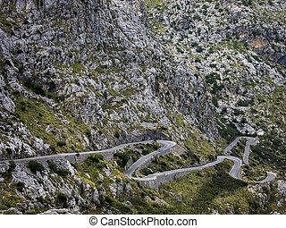 Mallorca Sa Calobra - Down to Sa Calobra in Mallorca...