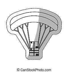 airmail shipping delivery icon vector illustration graphic...