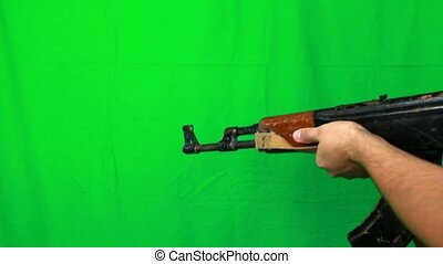Shooting Twice With Ak47 - Shooting with ak-47 two times....