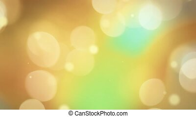 Golden Bokeh Overlay - HD video overlay with golden color...