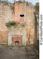 Derelict Cottage - Derelict cottage in the deserted village...