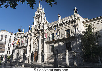 Valladolid (Castilla y Leon, Spain): University - Valladolid...