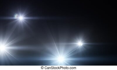 Camera Flash Light Flares With Sound 02 - Paparazzi multiple...