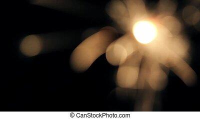 Burning Bengal Lights Sparkler 2 * Use blending modes to get...