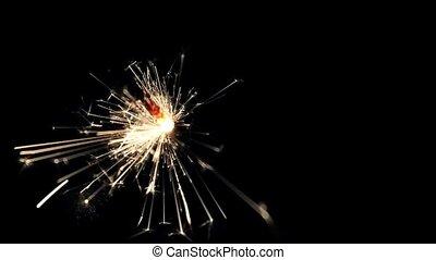 Burning Bengal Lights Sparkler 14 - Specs: Full HD .H264...