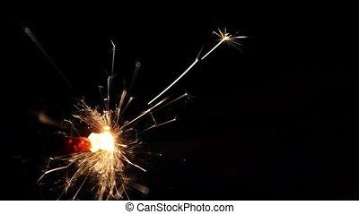 Burning Bengal Lights Sparkler - Specs: Full HD .H264 codec...