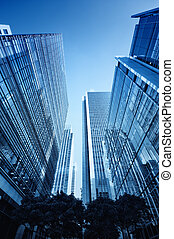 Canary Wharf, London - Canary Wharf`s skyscrapers London