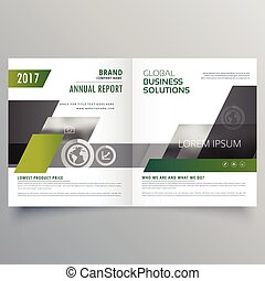 magazine brochure page template design for your brand