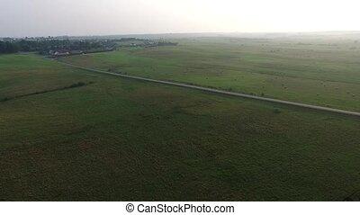 Flight Over Beautiful Landscape 3