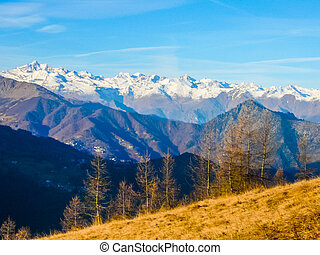 HDR Col Del Lis - High dynamic range (HDR) View of Col Del...