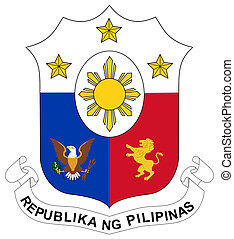 Philippines Coat of Arms - Philippines coat of arms, seal or...
