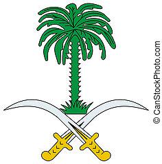 Saudi Arabia Coat of Arms - Saudi Arabia coat of arms, seal...