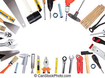 模仿, 集合, 工具, 手, 空間