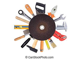 集合, 工具, 手