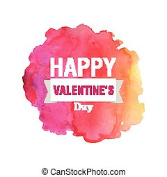 Vector Valentines Day Greeting Card Design. - Vector...
