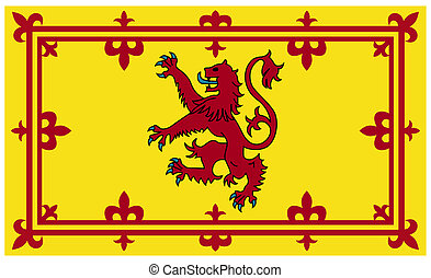 Royal Scottish flag or Standard - Royal Scottish standard or...