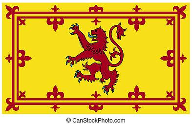 Royal Scottish flag or Standard - Royal Scottish standard or...