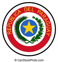 Paraguay Coat of Arms - Paraguay coat of arms, seal or...
