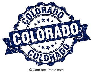 Colorado round ribbon seal