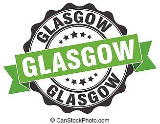 Glasgow round ribbon seal