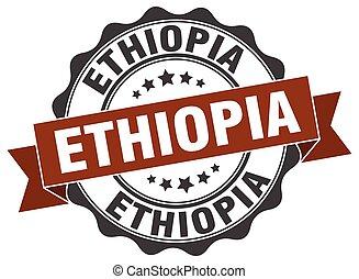 Ethiopia round ribbon seal