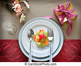Valentine Abstract with Souvenir Wedding are on Elegant...
