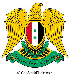 Syria Coat of Arms - Syria coat of arms, seal or national...