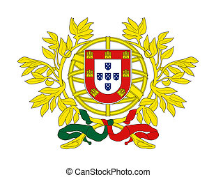 Portugal Coat of Arms - Portugal, coat of arms, seal or...